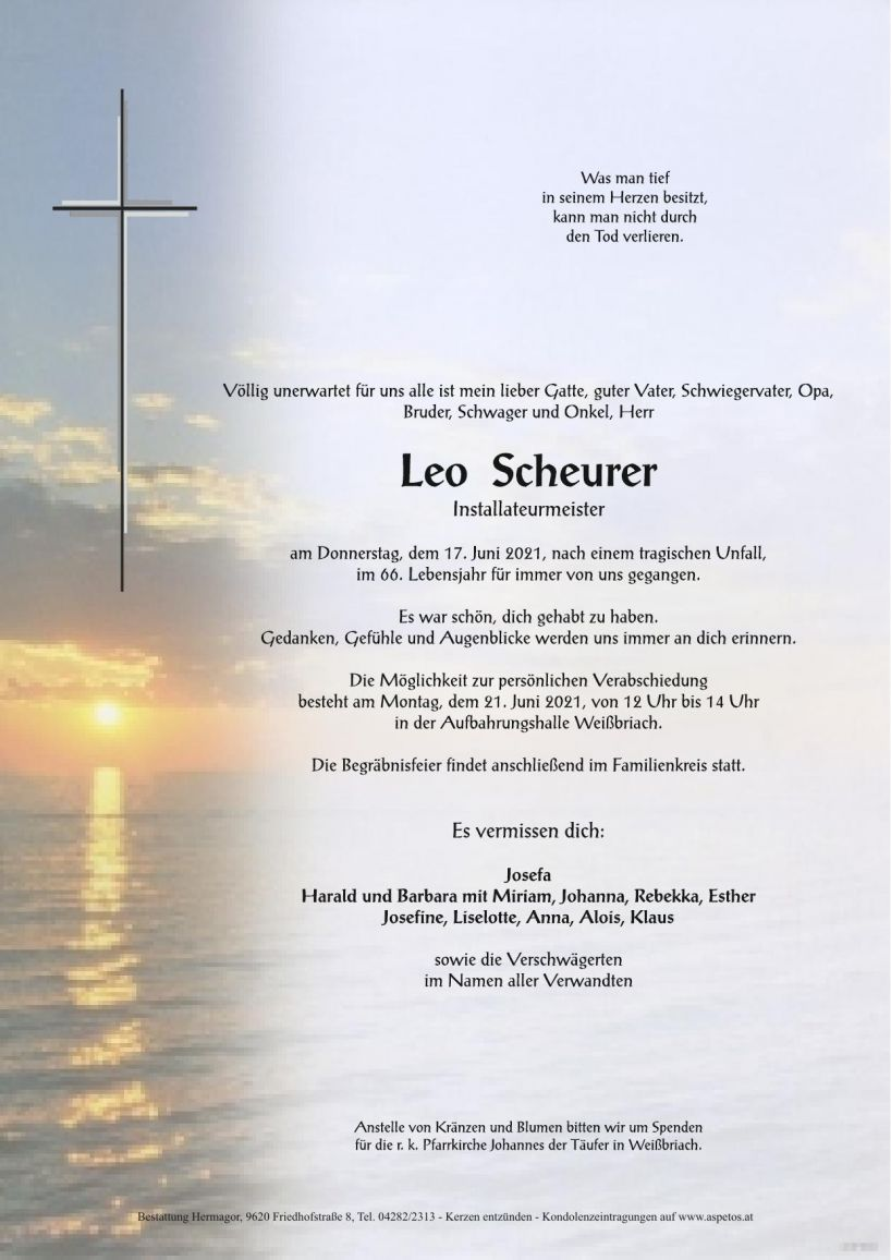 Leo Scheurer